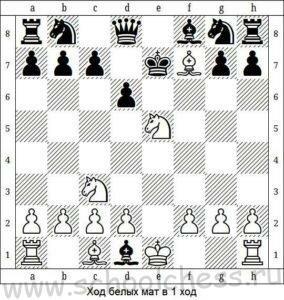 Ход белых мат в 1 ход