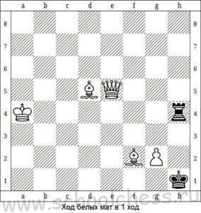 Шахматы мат в 1 ход 3