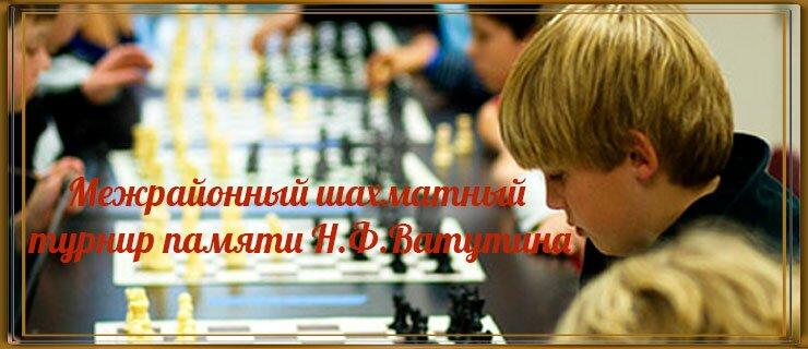 Межрайонный шахматный турнир памяти Н.Ф.Ватутина